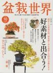 盆栽世界 2015年10月号