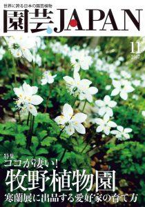 園芸JAPAN 2017年11月号